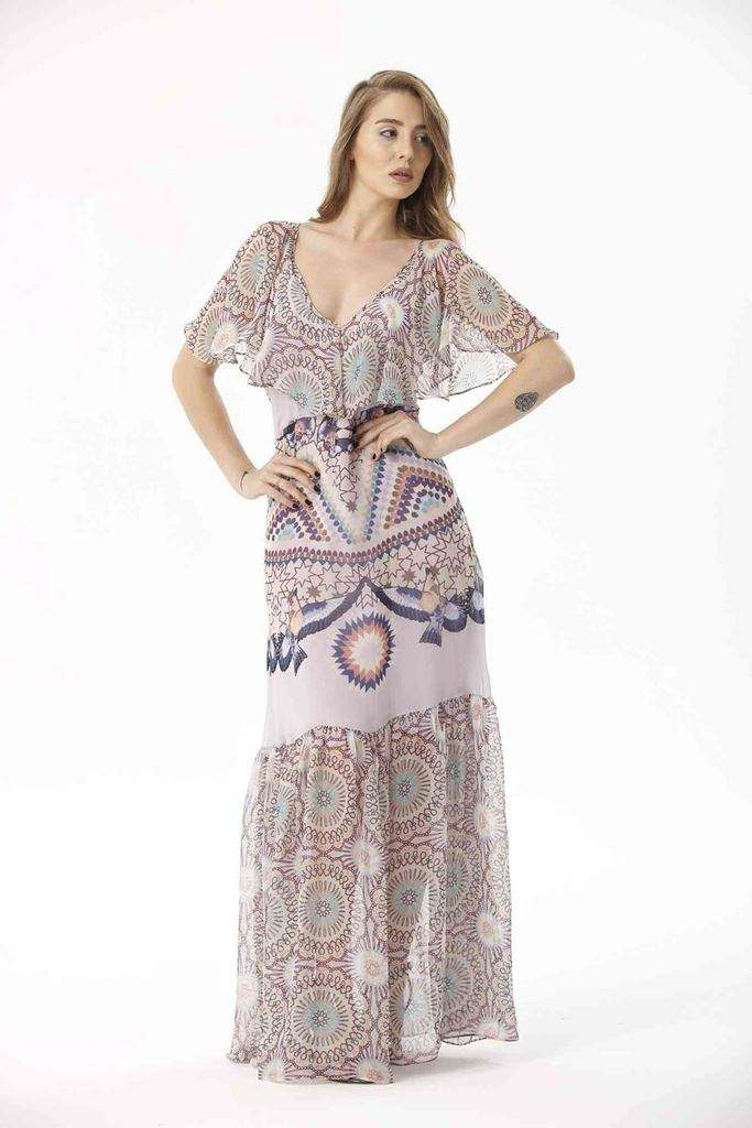 Picture of 17SFSG128 LONG DRESS