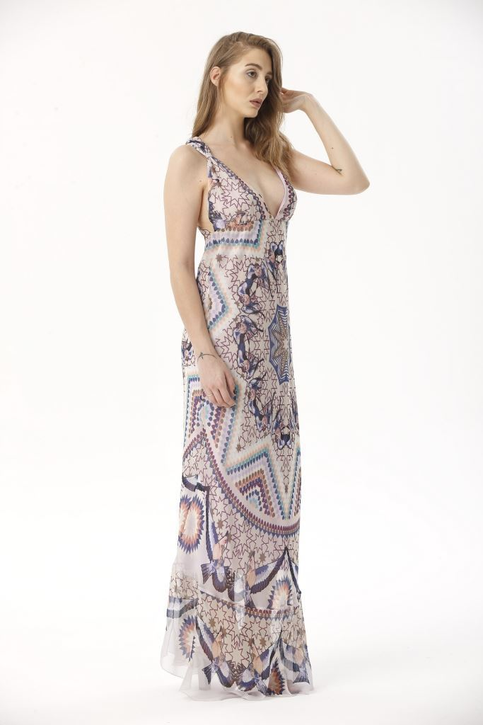 Picture of 17SFSG193 LONG DRESS