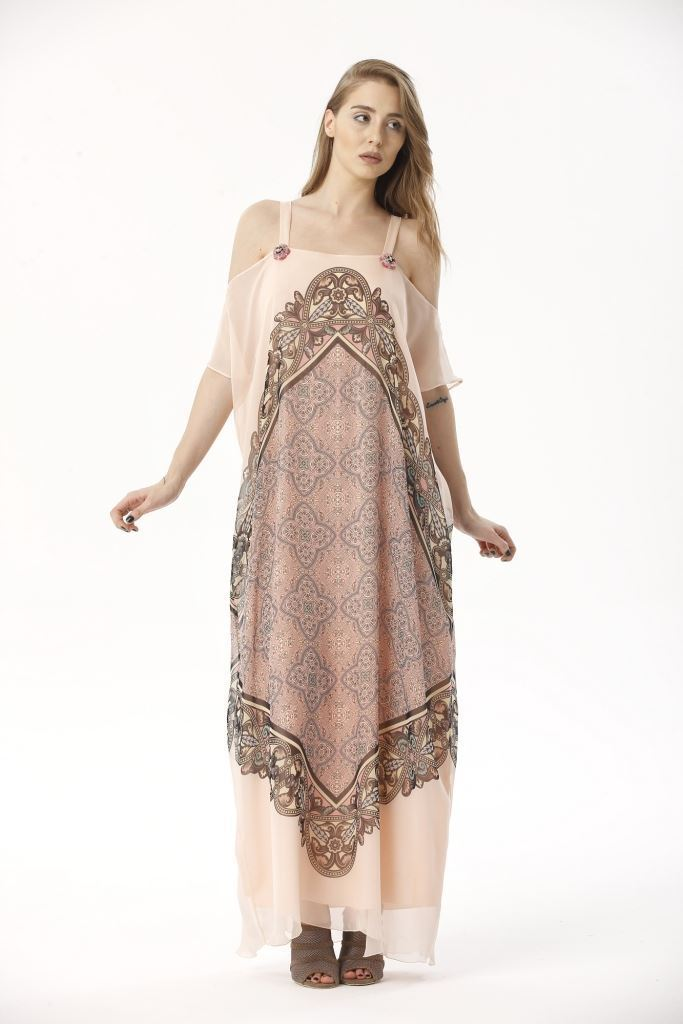 Picture of 17SFSG189 LONG DRESS