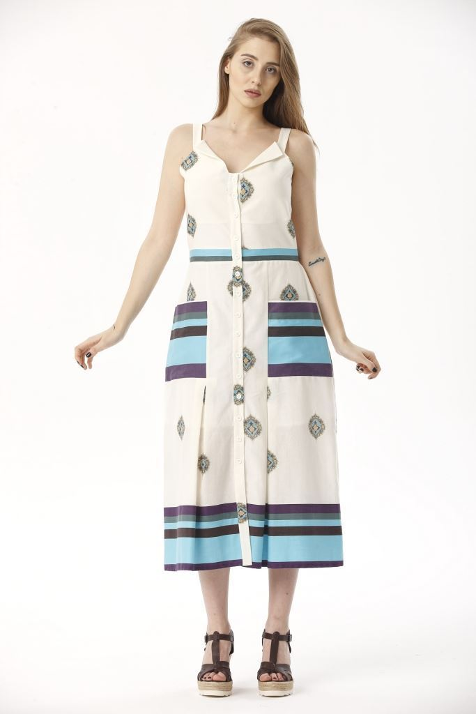 Picture of 17SFSC139 DRESS