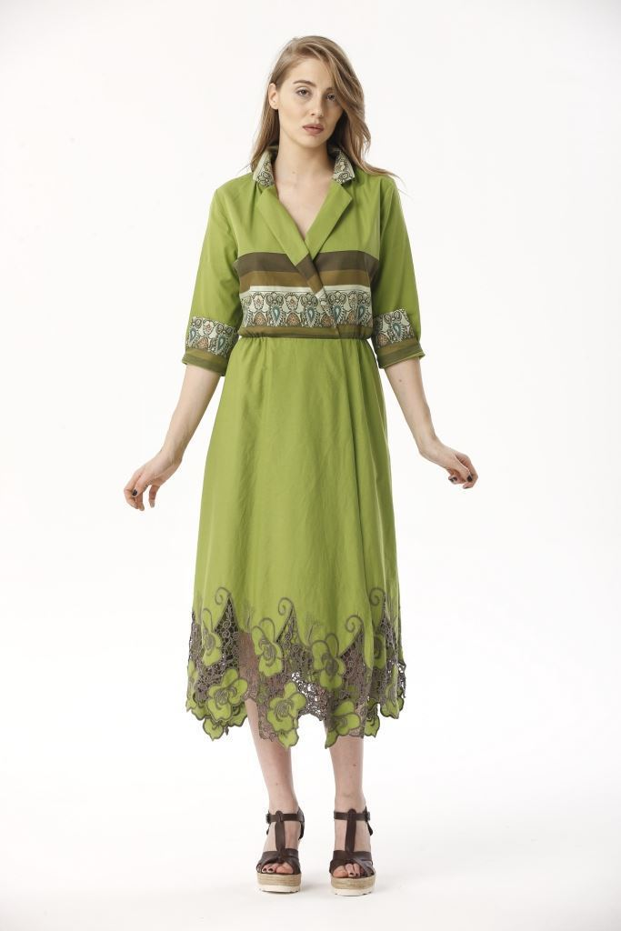 Picture of 17SFSC142 LONG DRESS